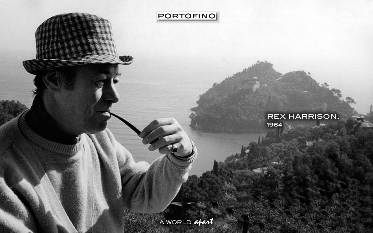 Portofino Rex Harrison 1964