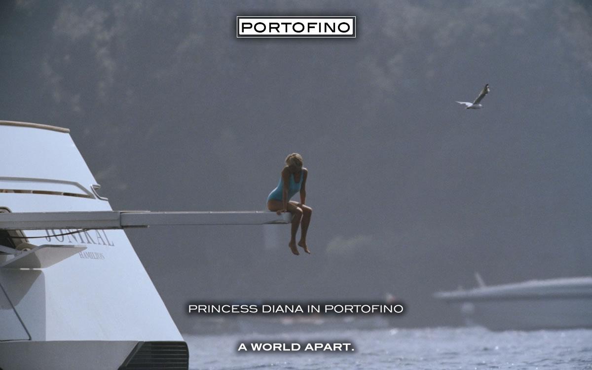 Princess Diana in Portofino