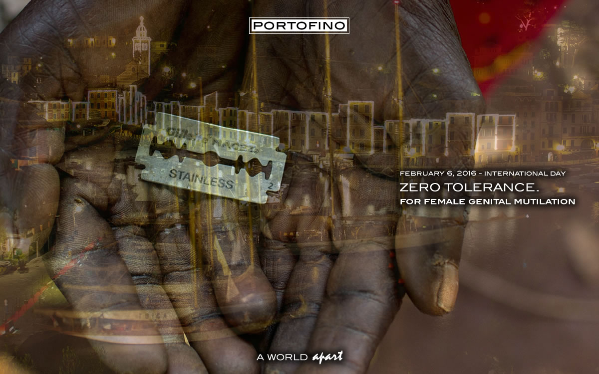 International Day Zero Tolerance Genital Mutilation Portofino