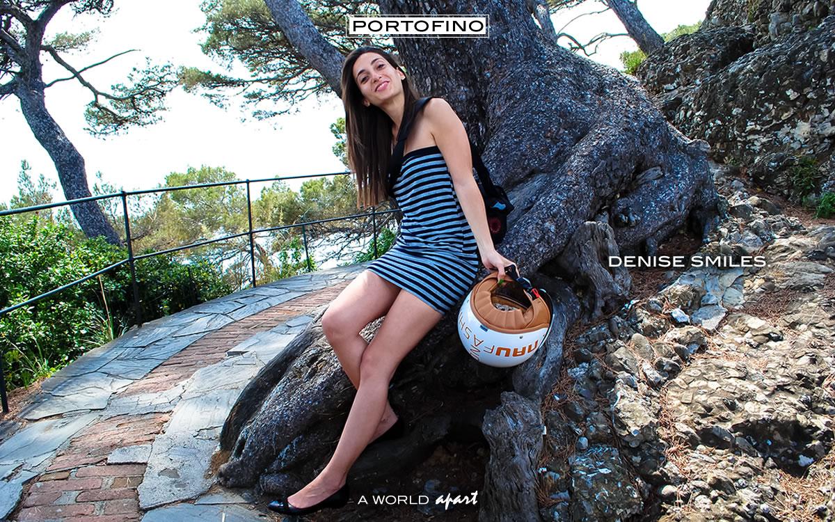 Portofino Denise Raschella Smiles in Portofino