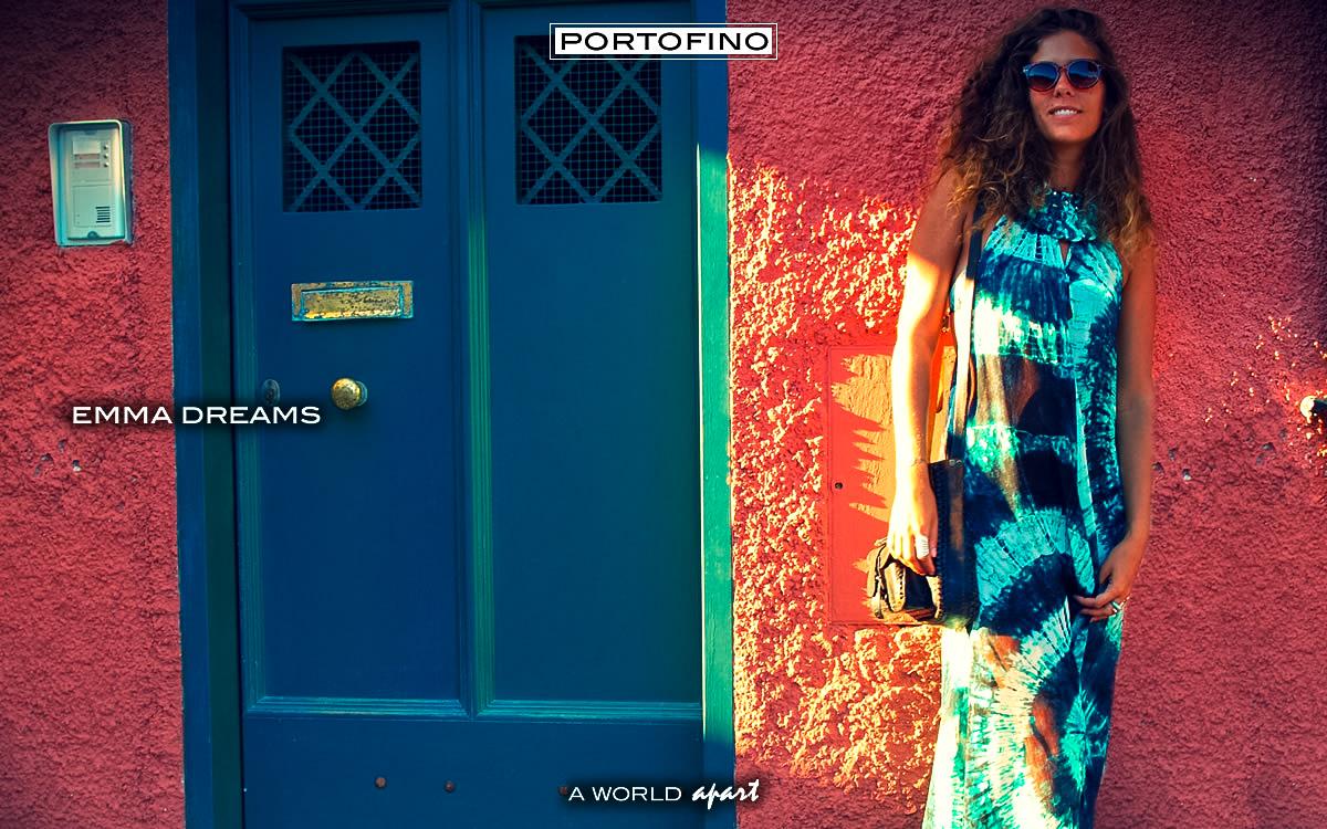 Emma dreams in Portofino