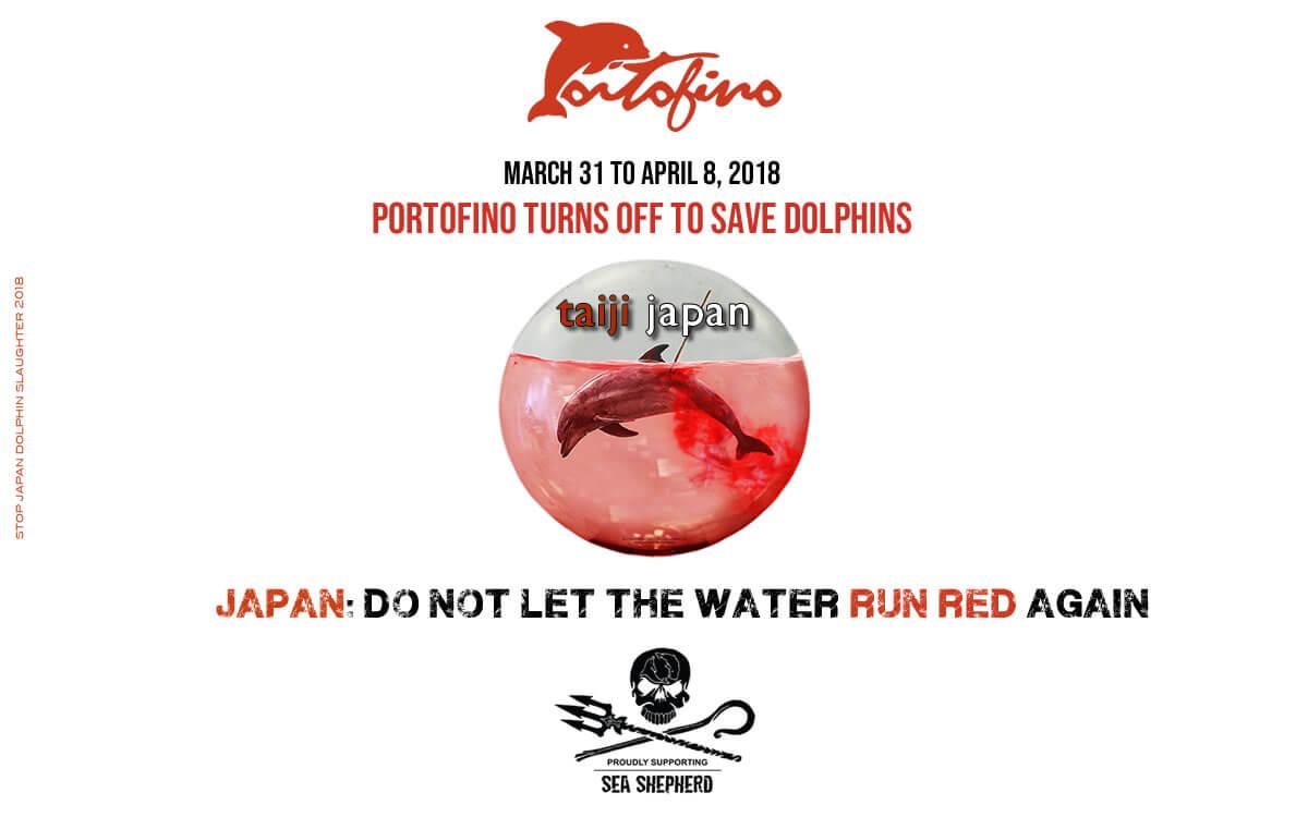 Portofino si spegne per i Delfini 2018
