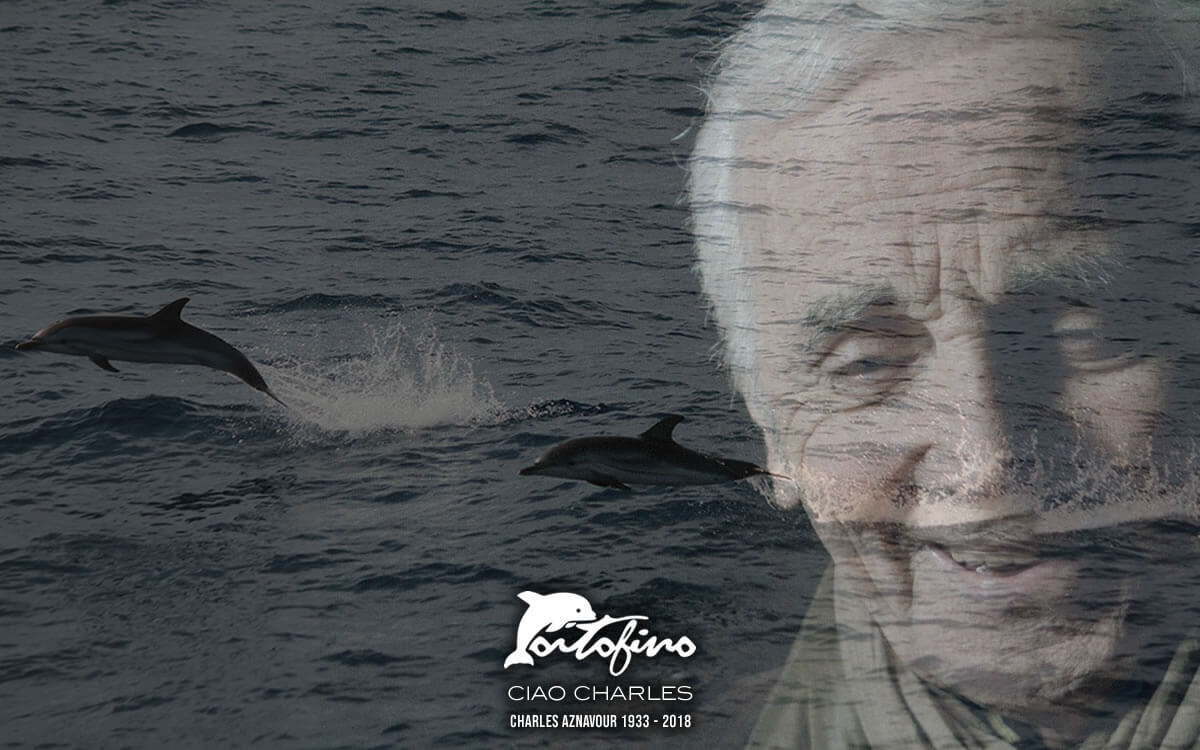 CIAO CHARLES You've Been Great. Rest in peace. Charles Aznavour (1933-2018) I Delfini di Portofino 🐬