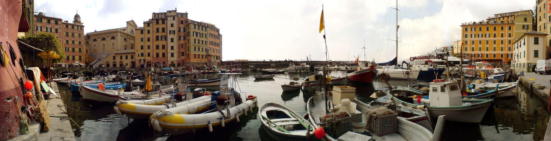 The Marina of Camogli